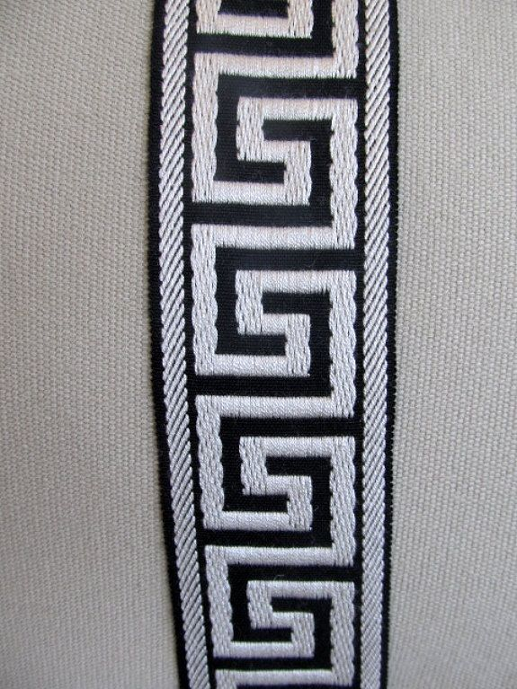 Greek Key Trim By The Yard For Curtain Project Decorative