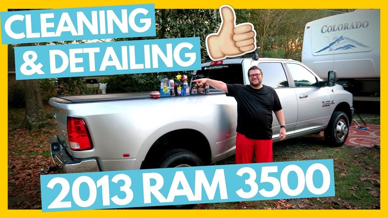 Detailing Our 2013 Ram 3500 & Products We Use 👍 Full Time