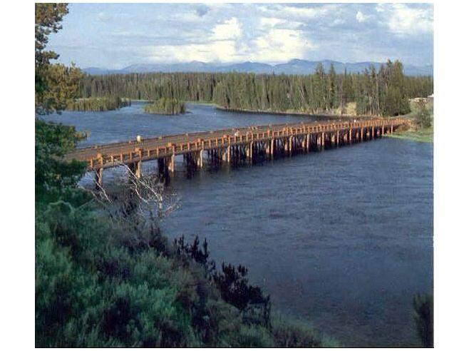 Fishing Bridge, Yellowstone National Park Cody, WY