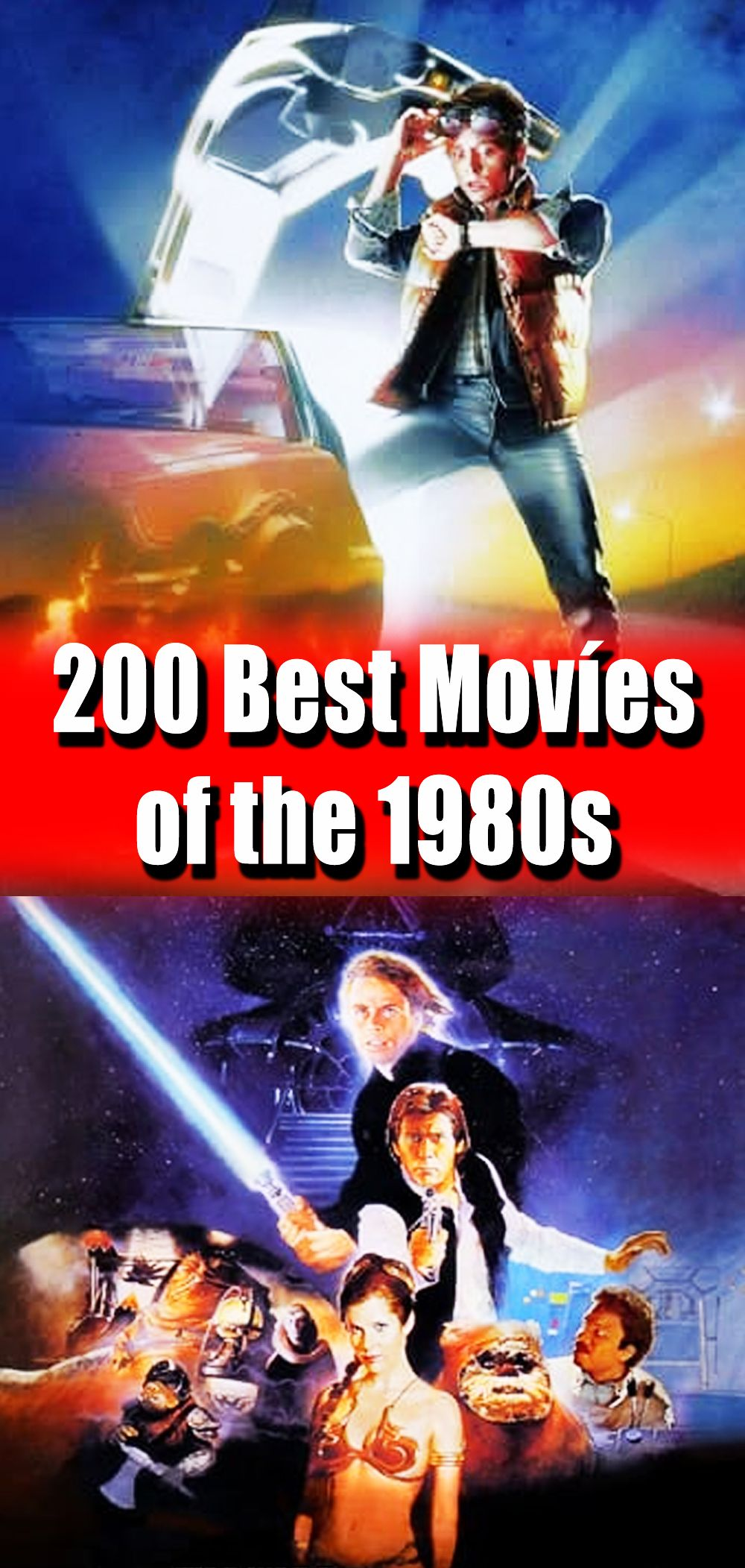 200 Best Movies Of The 1980s Good Movies Movies Entertaining