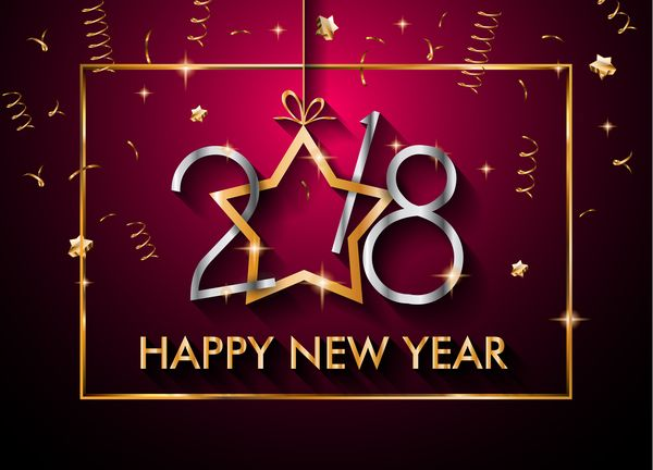free eps file 2018 new year background with golden frame vector 03 download name 2018 new year background with golden frame vector 03 files source go to