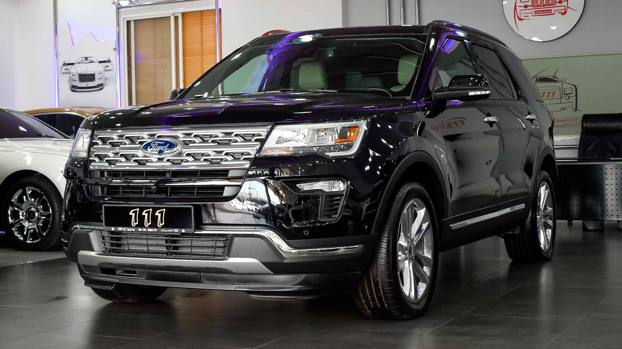Model Ford Explorer Limited Ecoboost 4wd 2.3L V4
