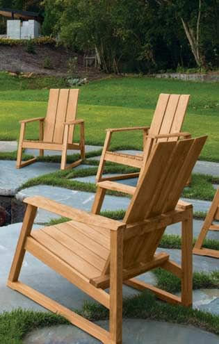Teak Furniture Outdoor Patio Country Casual