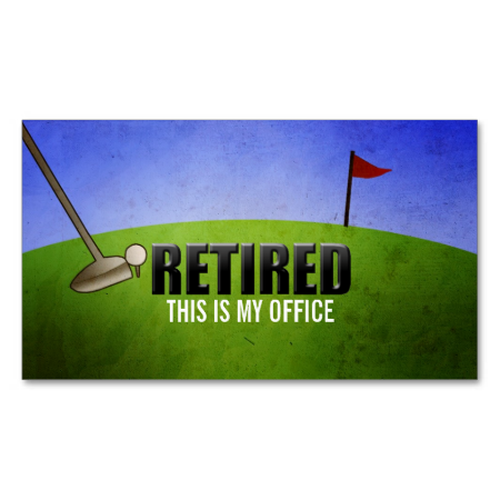 Funny Retirement Business Cards Zazzle Com Retirement Humor Business Card Size Standard Business Card Size