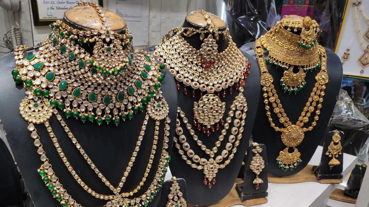 Bridal Jewellery Set Artificial Jewellery Wholesale Market Cheapest Jewelry Ever In 2020 Wholesale Jewelry Bridal Jewelry Sets Kundan Jewellery Bridal