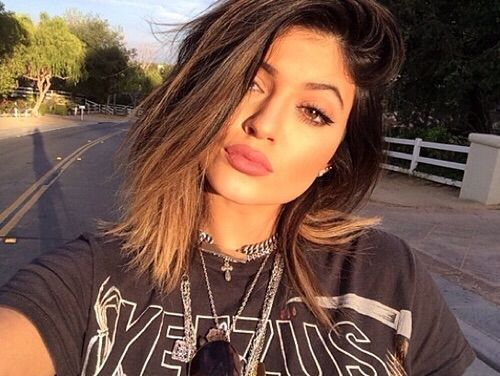Kylie Jenner, Short Hair, Long Bob, LOB