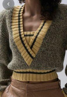 Photo of Вязание стиль миссони,полоски,пэчворк