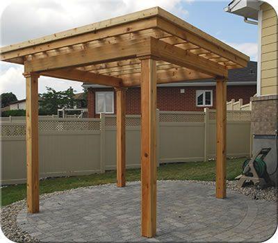 Custom Flat Roof Cedar Pergola Fence All Pergola Cedar Pergola Pergola Designs