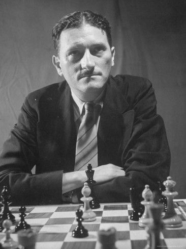Chess Master I. A. Horowitz, Competing in the Chess Tournament