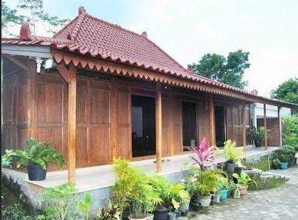 Desain Rumah Limasan Minimalis Desain Rumah Rumah Rumah Kayu