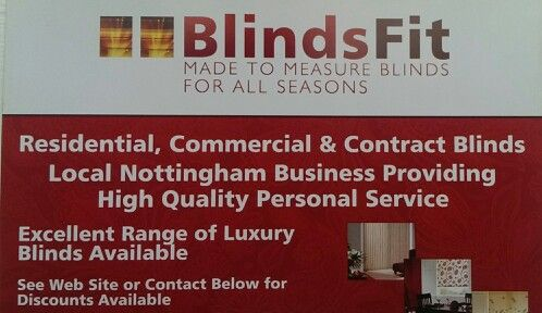 Blinds Fit, providing excellent made to measure blinds Customer - personal service contract