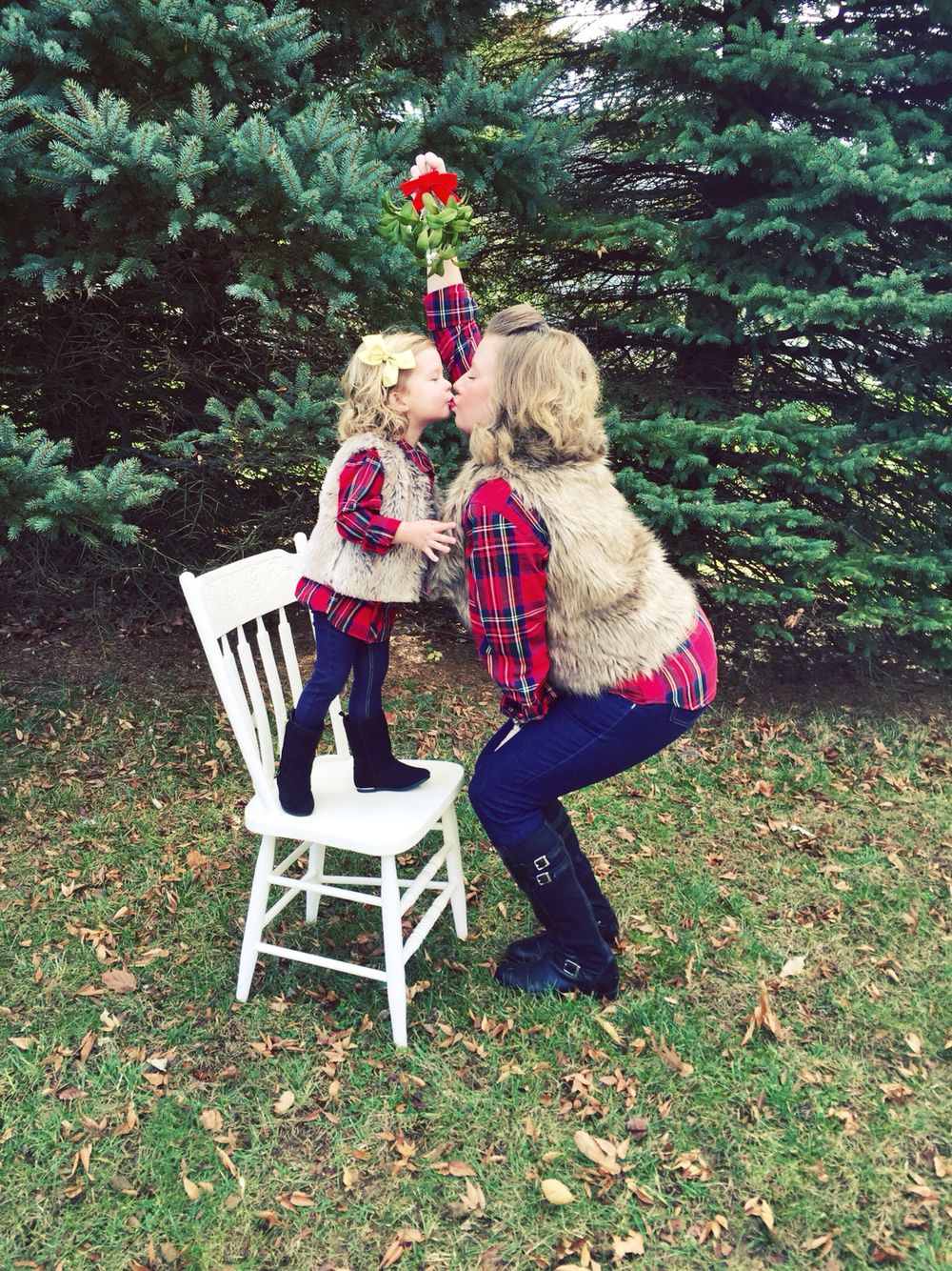 mother/daughter christmas card idea! | oh baby! | pinterest | mother
