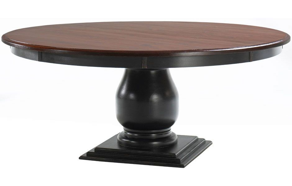 Round Pedestal Table Dining Kate Madison
