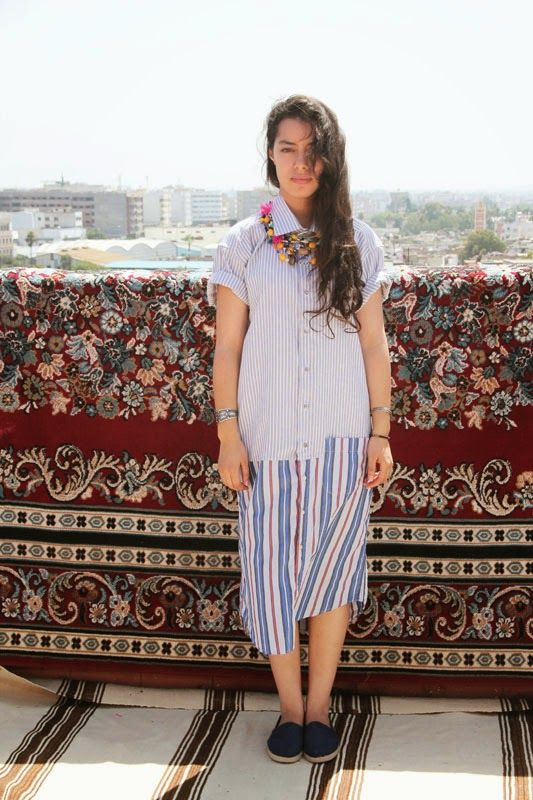 easy-to-wear ! Maxishirt | Ghitta Laskrouif