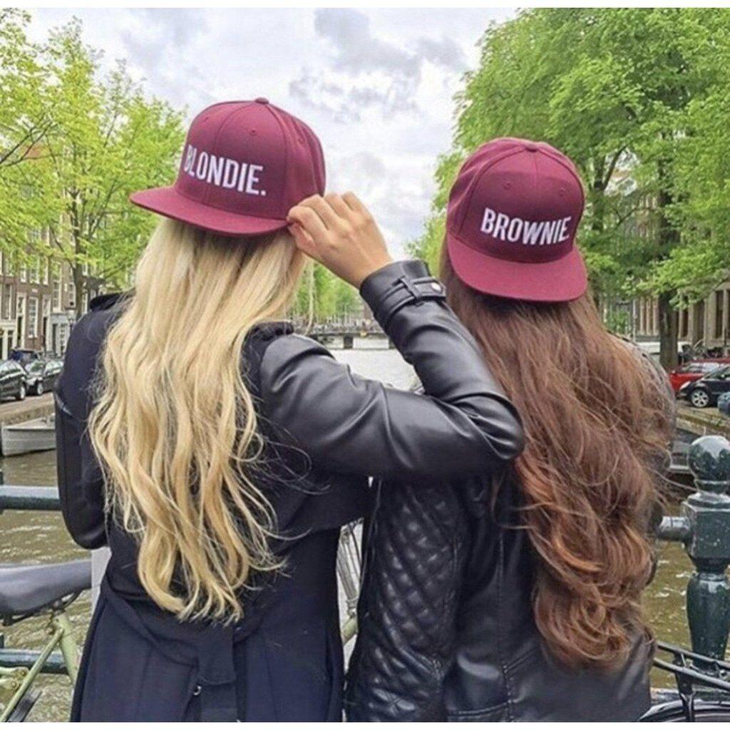Blondie Hair Bestie Womens Baseball Top BLONDE