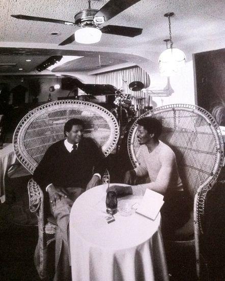 McCoy and Mark circa 1983 at ricks cafe Chicago