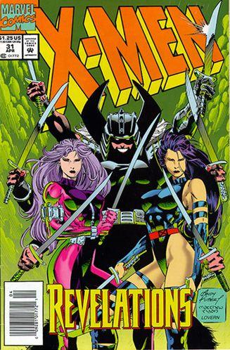 X Men 31 Spiral Revanche And Psylocke Marvel Comics Covers Comics Marvel Comics Art