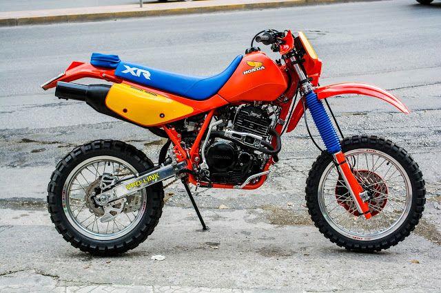 Honda Xr 600r San Na Mhn Perase Mia Mera Enduro Motorcycle Honda Motorcycles Adventure Motorcycling