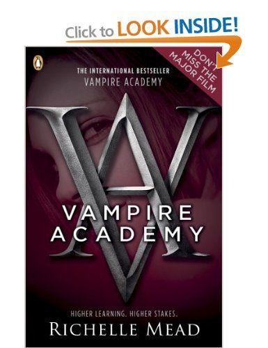 Vampire Academy Book 1 Amazon Richelle Mead Books Books