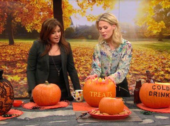 Double Duty Pumpkin. Dip bowl, candy bowl, cooler, and keg!