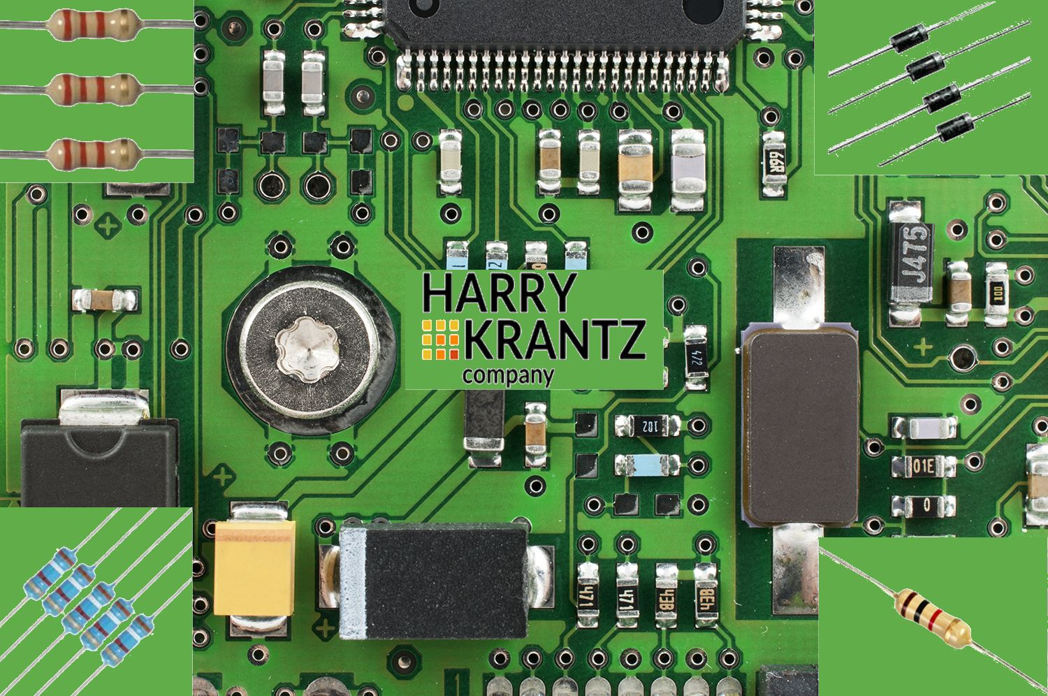 Looking for obsolete passive electronic components? The Harry Krantz Company has a wide variety in stock and available for immediate delivery.