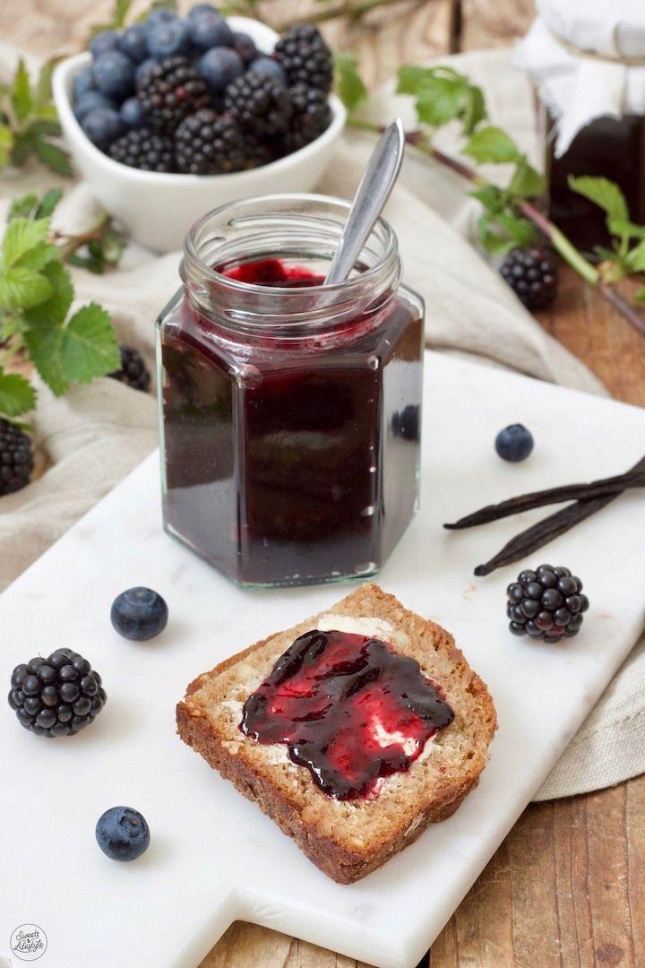 Heidelbeer-Brombeer-Marmelade - Rezept - Sweets & Lifestyle