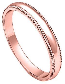 3mm Milgrain Plain Rose Gold Wedding Band Plnrmb 3mm Plnrmb 3mm 289 99 Diamonds Engage Large Engagement Rings Rose Gold Wedding Bands Gold Wedding Band