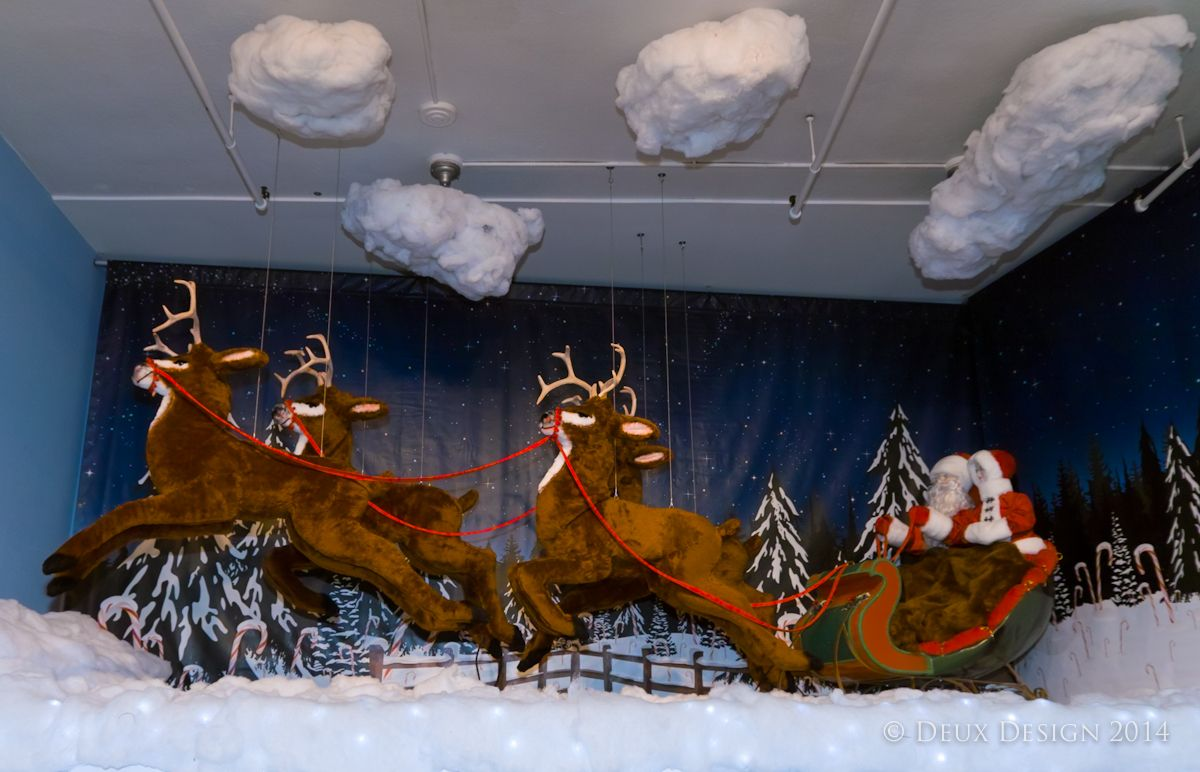 Beautiful Sims Furniture Holiday Display, Covington