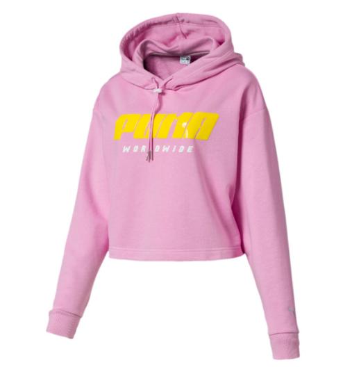 d3e95ed005c TZ Hoody Color Pale Pink Black Puma Shoes, Pink Pumas, Pumas Shoes, Metallic