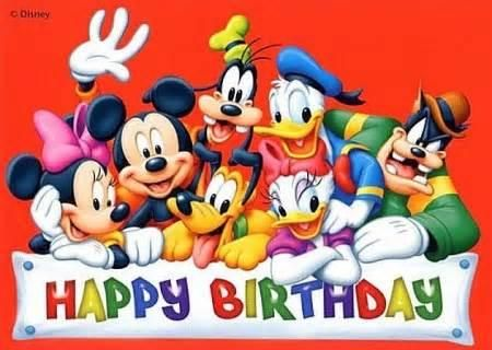 Disney Happy Birthday Mickey Mouse Movies Disney Posters