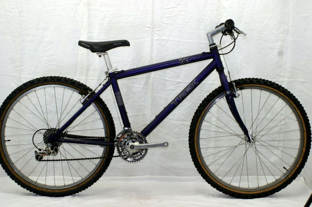 Trek 7000 Vintage Mountain Bike Mtb Small 16 Shimano Stx Rigid