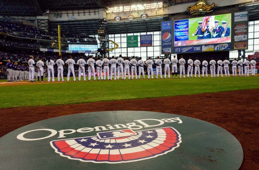 Opening Day 2015 at Miller Park Brewers opening day