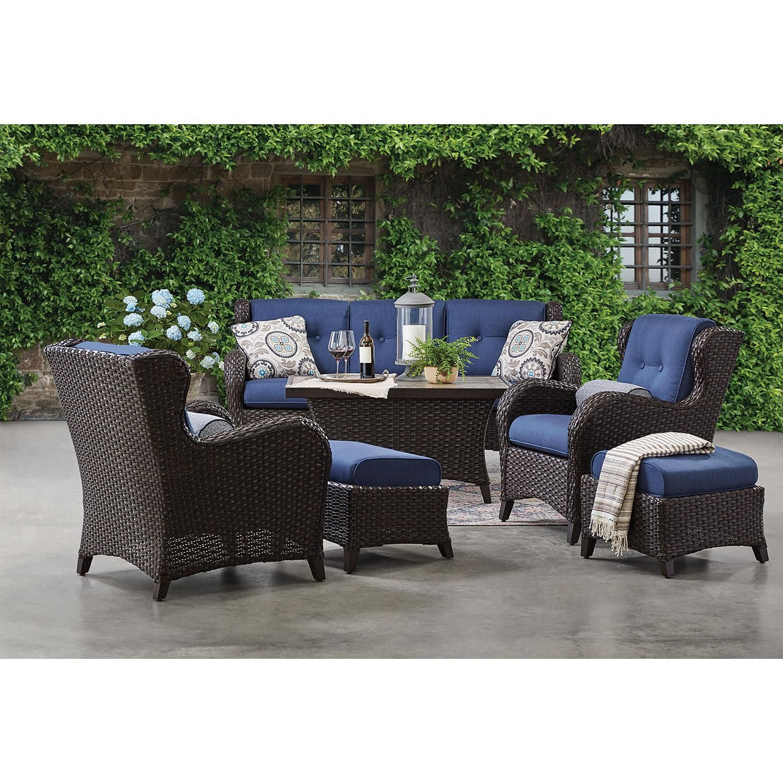 member s agio heritage 6 seating patio set on Agio Patio Furniture id=72150