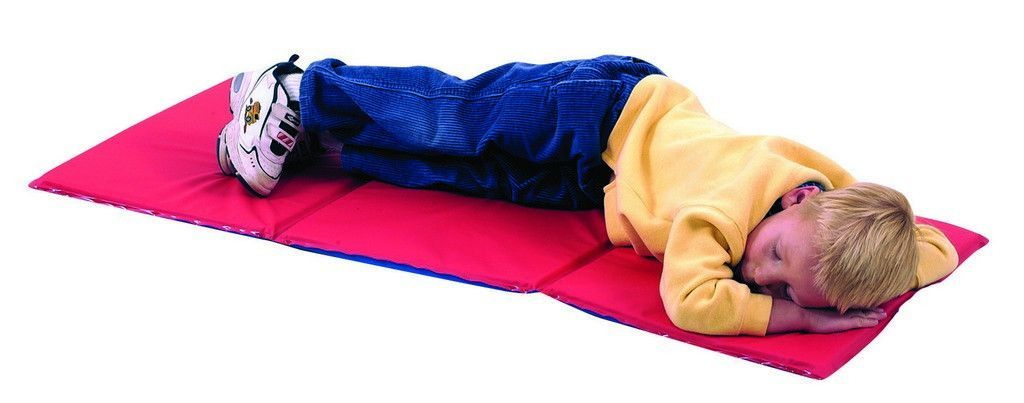 Red Blue 3 Section 75 Quot Thick Infection Control Mat