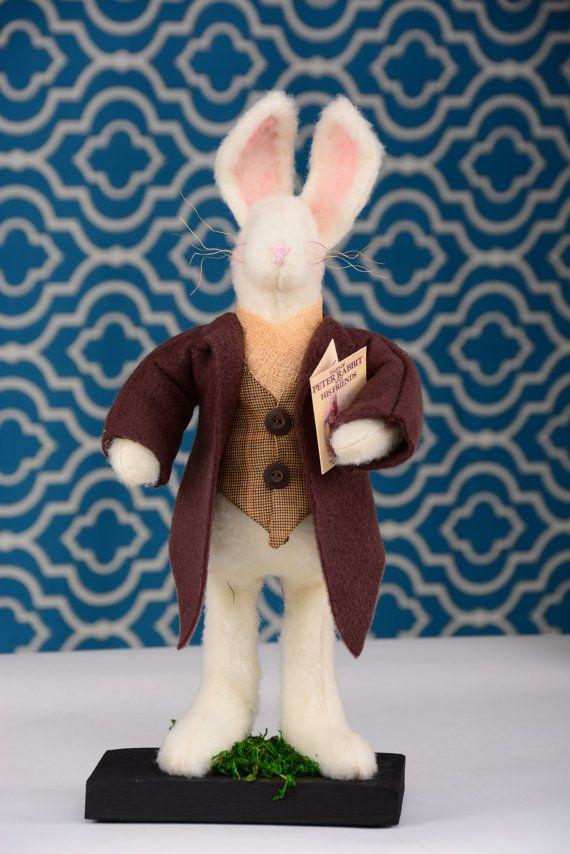 Rabbit Bunny Rabbit Peter Rabbit Thumper Easter Rabbit by shopch2
