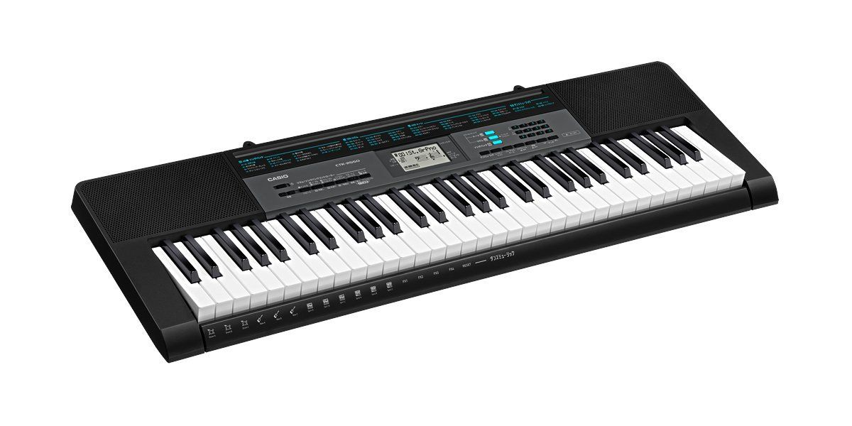 Casio CTK-2550 PPK 61-Key Premium Keyboard Pack with Stand