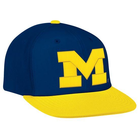 western michigan university baseball cap athletics game day swag for him big snap back of eastern