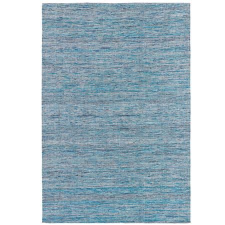 Silky Striated Flatweave Rug - Gold, Jewel or Turquoise