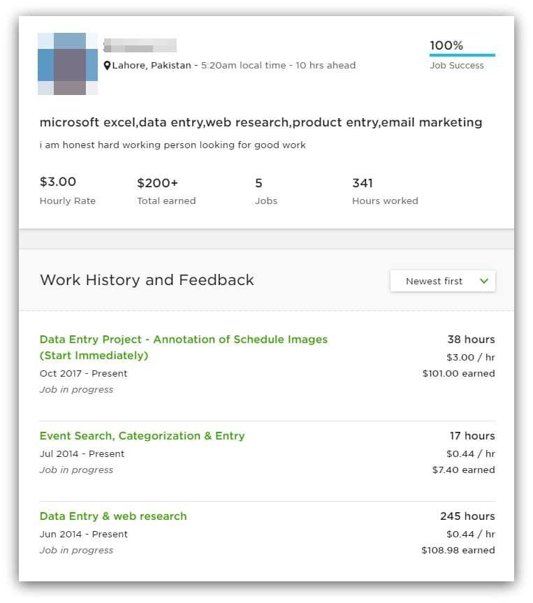 An Upwork Freelancer With A High Job Success Score But Low Earnings Success Job Upwork