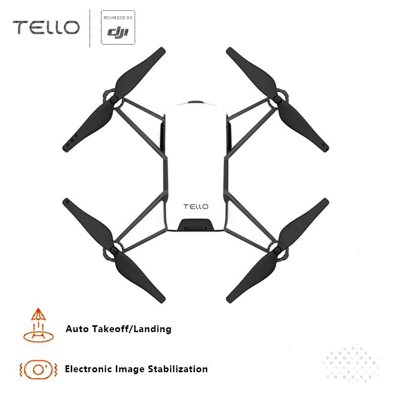 In Stock! DJI Tello Mini Drone 720P HD Transmission Camera APP Remote Control Folding Toy FPV RC Qu