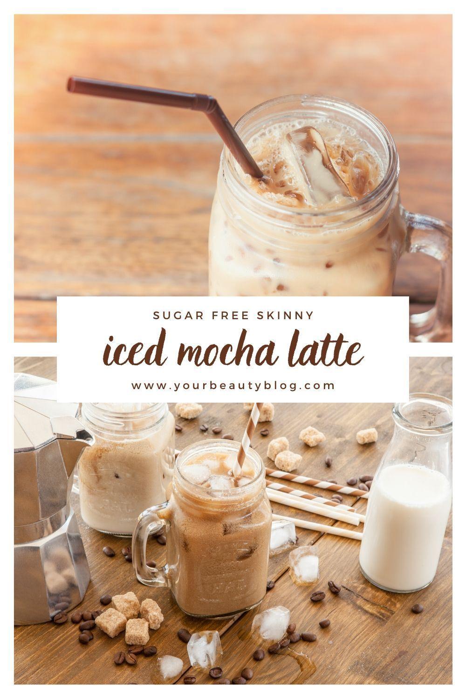 Skinny Iced Mocha Latte Recipe Sugar Free Keto in 2020