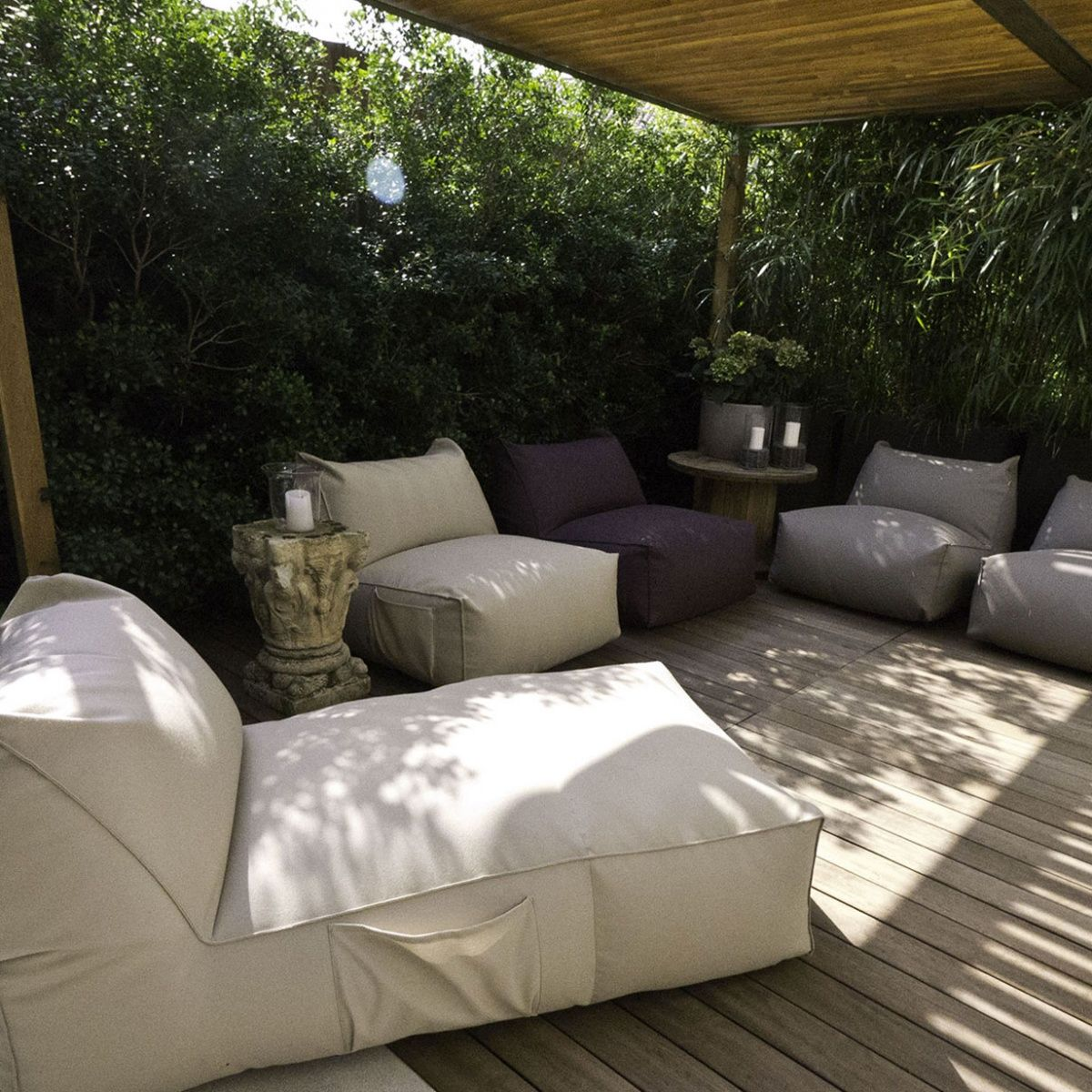 Easy Chair White By Puffone Gart Bali House Cozy Decor Interior Design Inspiration