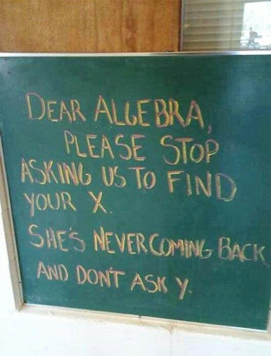 Fun equals math?