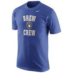 Milwaukee Brewers Nike Men's Local Phrase T-Shirt - Royal