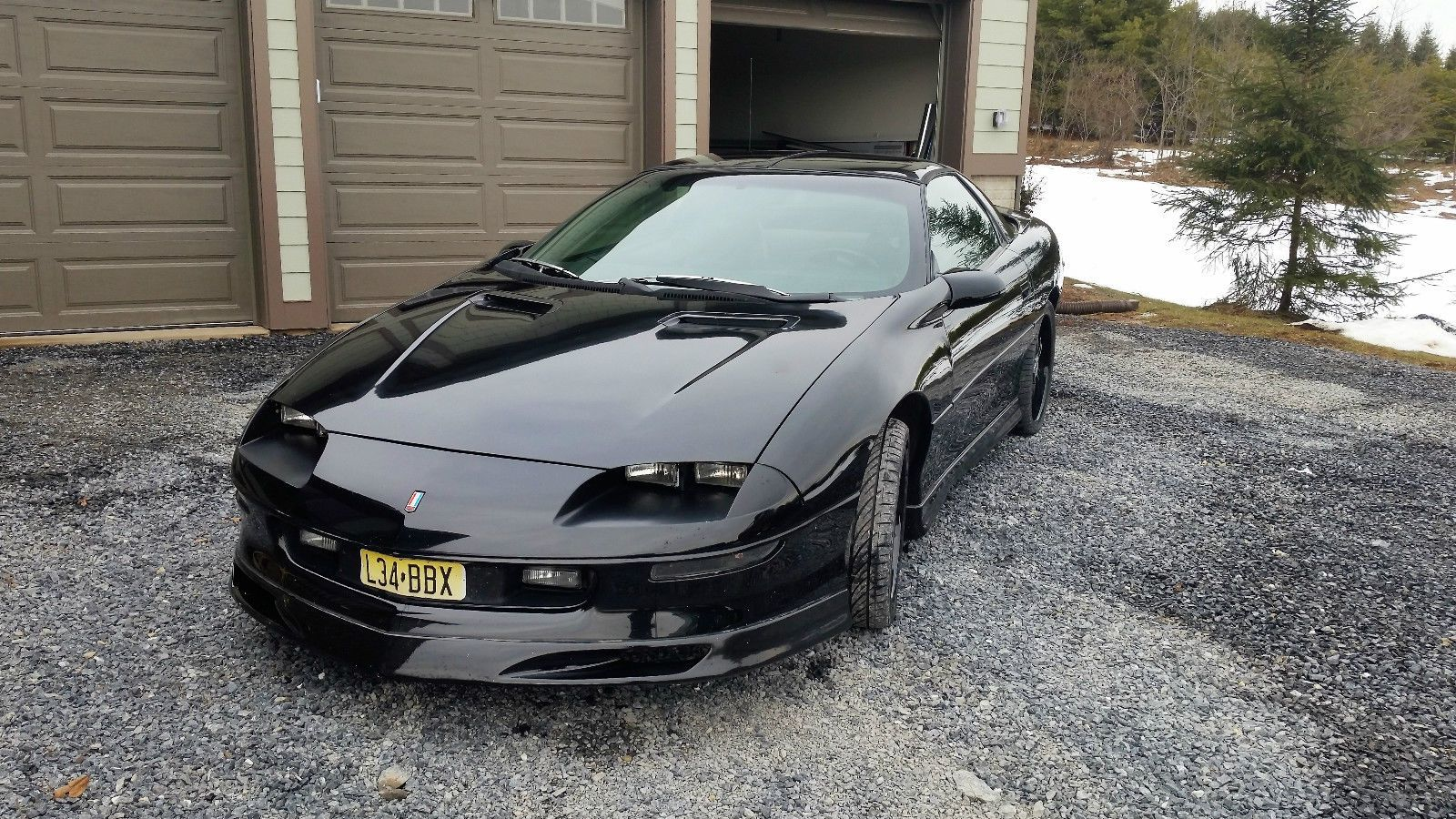 1995 Camaro Z28 T Tops 6 Speed Manual New Tires New Hd Clutch Brakes 36 Accel Injectors Headers Obx Stainless Exhaus Chevrolet Camaro Chevrolet Camaro