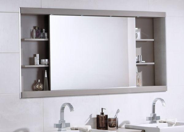 spiegelschrank bad schiebet r regale badezimmerm bel sch ner wohnen pinterest. Black Bedroom Furniture Sets. Home Design Ideas