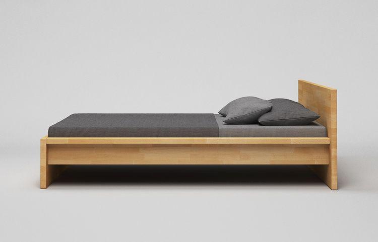 Bett Massiv B31 A2 Buche Kgl Schlafzimmer Design Bett Holz