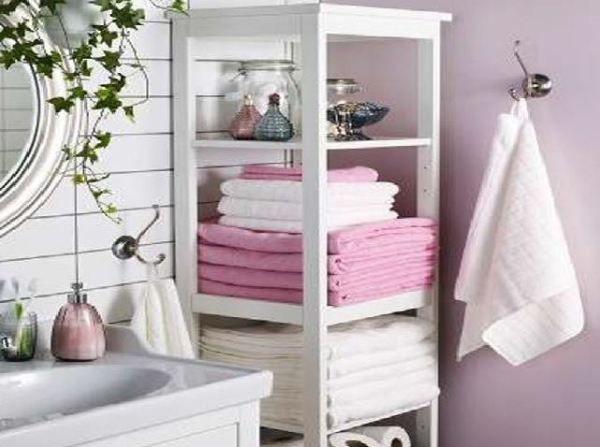 Organize Your Bathroom 25 Towel Storage Ideas Ikea Bathroom Storage Ikea Bathroom Bathroom Furniture