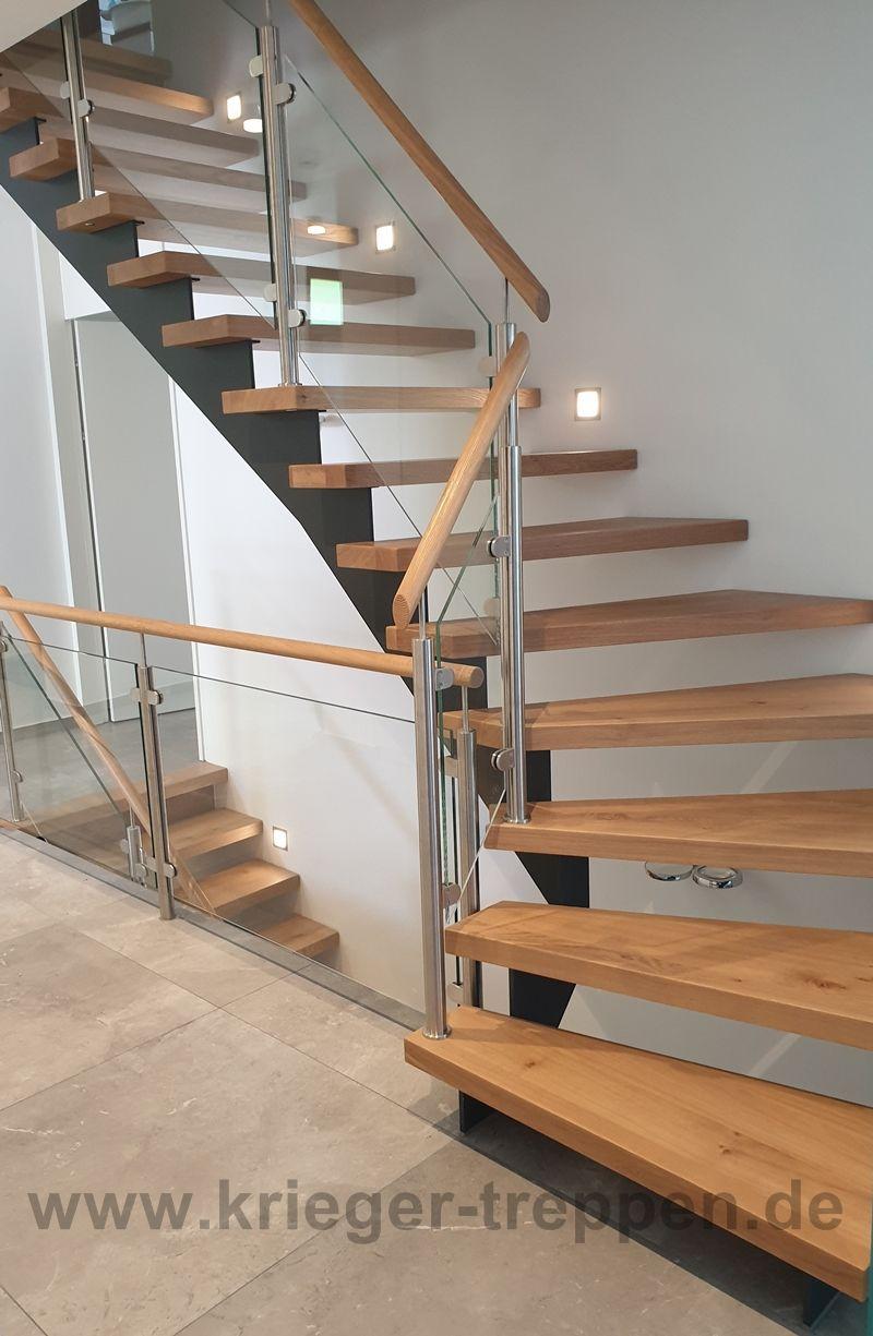 treppe stahl holz