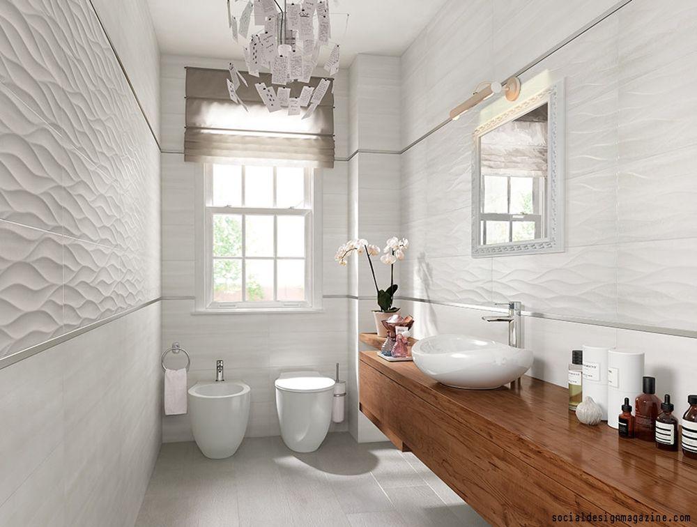 Unique Tile Ideas For Your Bathroom Bathroom Interior Modern White Bathroom Tile Bathroom